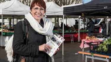 Anne Vignot, candidate EELV à Besançon