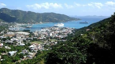 Roadtown, une des principales villes des îles Vierges, est un paradis fiscal