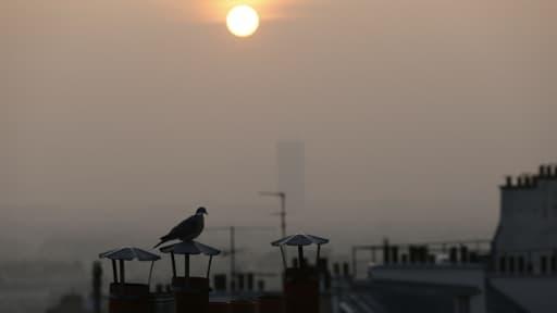 Une épaisse brume de pollution plane sur Paris ces jours derniers.