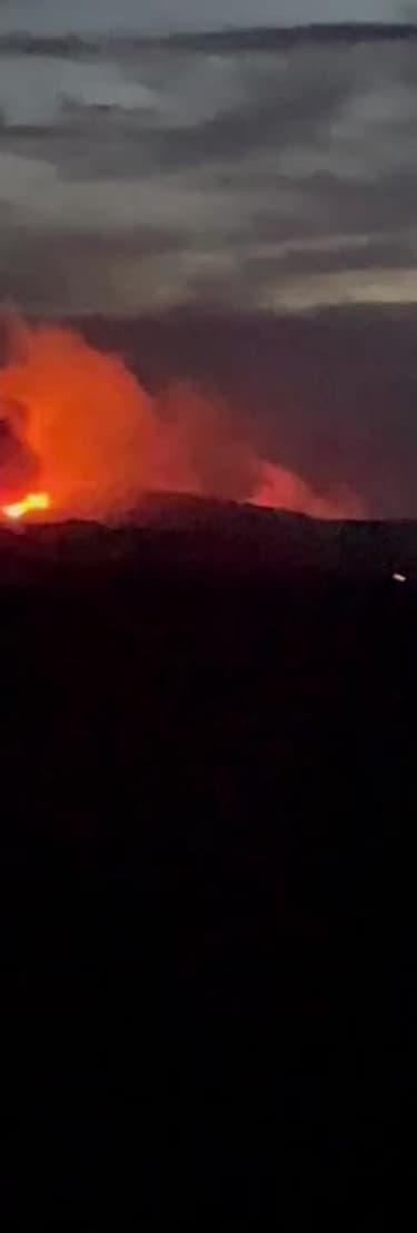 Incendie dans l'Aude filmé de nuit - Témoins BFMTV