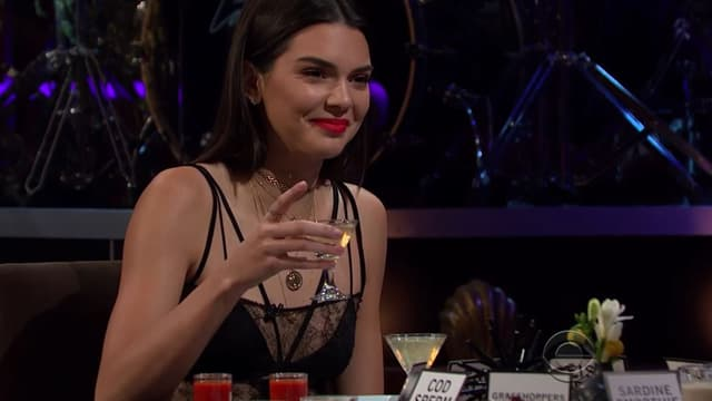 """Kendall dans le """"Late Late Show with James Corden"""""""