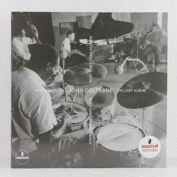 Pochette de l'album perdu de John Coltrane