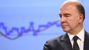 Pierre Moscovici le 4 novembre 2014 à Bruxelles.
