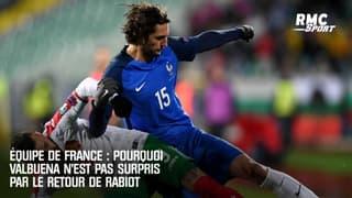 Equipe de France : pourquoi Valbuena n'est pas surpris par le retour de Rabiot