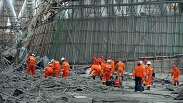 13 personnes ont été placées en détention après l'effondrement en Chine d'une structure métallique d'une centrale à charbon.