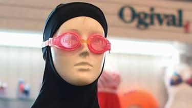 n modèle de burkini sur un mannequin en août 2016 (photo d'illustration)