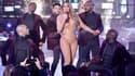 Mariah Carey sur scène à Times Square le 31 décembre 2016