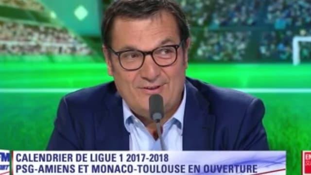 Didier Quillot, le directeur général de la LFP.