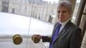 Claude Sérillon, le 12 mai 2013 à l'Elysée. Conseiller en communication, il sera désormais chargé de la stratégie web de l'Elysée.