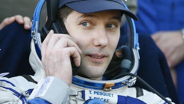 Thomas Pesquet le 2 juin 2017, le jour de son retour sur terre.