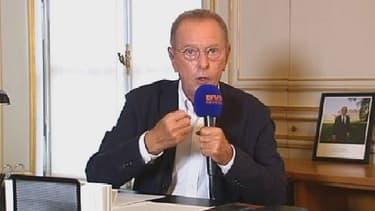 """Dominique Baudis a expliqué sur BFMTV avoir demandé au Conseil d'Etat """"de répondre à des questions qui depuis des mois voire des années n'ont toujours pas de réponses""""."""