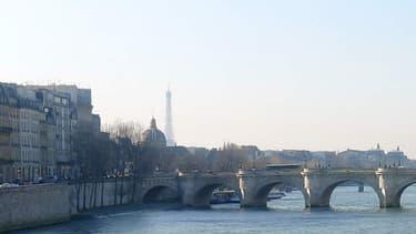 Les voies sur berges sur la rive droite de Paris
