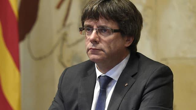 Le président de Catalogne Carles Puigdemont.