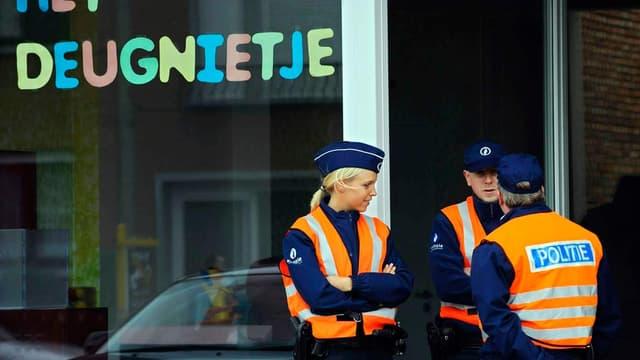 Des policiers en opération près d'Anvers (illustration)