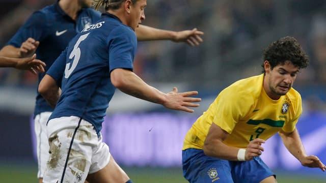 Philippe Mexès, auteur d'un bon match contre le Brésil