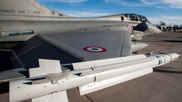 Dépourvus de composants américains, les missiles Mica NG ne sont pas soumis à la législation Itar qui impose l'autorisation des Etats-Unis pour pouvoir être exportés (photo d'illustration)
