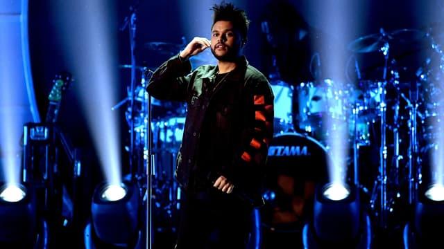 The Weeknd à Las Vegas en septembre 2017