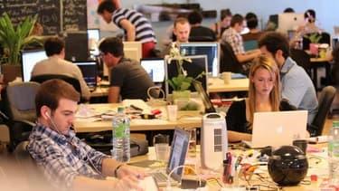 95% des fondateurs de start-up français n'en sont qu'à leur première expérience entrepreneuriale contre 75% au Royaume Uni.