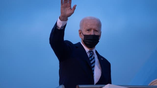 Joe Biden au Royaume-Uni, le 9 juin 2021.