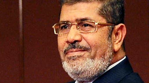 Mohamed Morsi, alors président egyptien, en décembre 2012.