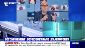 Aéroports : des robots pour rassurer les voyageurs