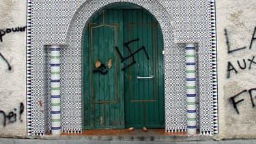 La mosquée de Castres vandalisée en décembre 2009