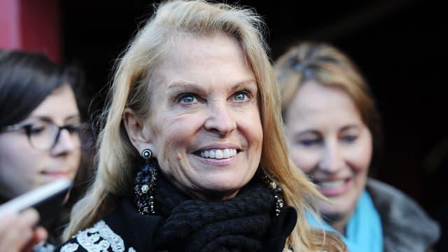 Jane Hartley, ambassadrice des États-Unis à Paris.