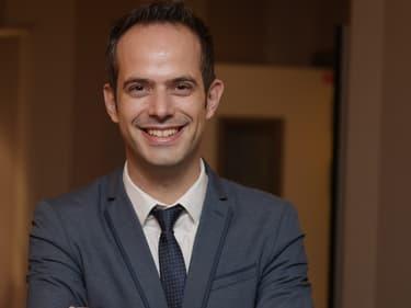 Le PDG de Spartoo, Boris Saragaglia.