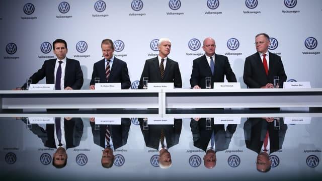 À la tête du groupe Volkswagen depuis 2015, Matthias Müller pourrait bientôt être contraint de quitter son poste. (image d'illustration)