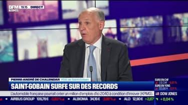 Pierre-André de Chalendar (Saint-Gobain) : Saint-Gobain surfe sur des records - 03/06