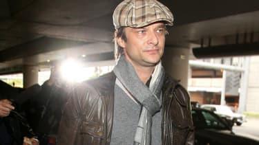 David Hallyday à Los Angeles le 11 décembre 2009.