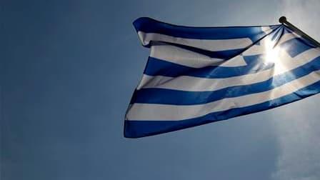 Le Fonds monétaire international (FMI) a fait savoir qu'il avait accéléré les discussions avec la Grèce sur un plan d'aide afin de s'assurer qu'elles soient conclues dans les temps par rapport aux besoins de financement du pays. /Photo prise le 23 avril 2