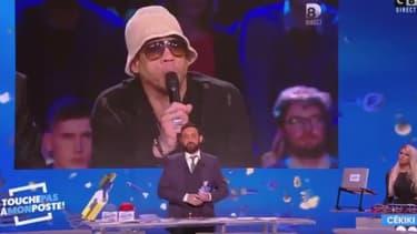Cyril Hanouna dans son émission Touche pas à mon poste! sur C8, le 28 novembre 2017.