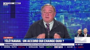 Le débat  : Que change l'accord sur le télétravail ? par Jean-Marc Daniel et Nicolas Doze - 27/11