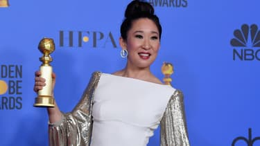 Sandra Oh le soir des Golden Globes 2019