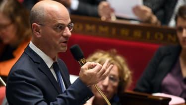 Jean-Michel Blanquer à l'Assemblée nationale, le 5 décembre 2017
