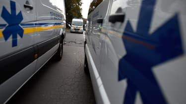 Les ambulanciers ont manifesté devant le ministère de la Santé (Photo d'illustration)