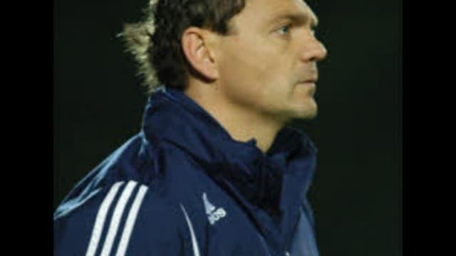 Didier Noblet, entraîneur des amateurs de Locminé