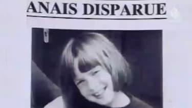 Un avis de recherche d'époque témoignant de la disparition d'Anaïs Marcelli.
