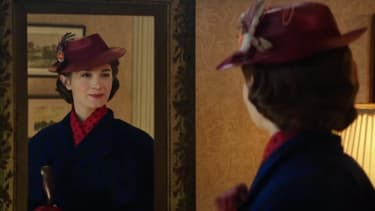 Emily Blunt dans Le retour de Mary Poppins.