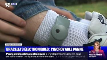 La moitié du système de contrôle des bracelets électroniques est tombé en panne lundi, concernant plus de 7000 personnes