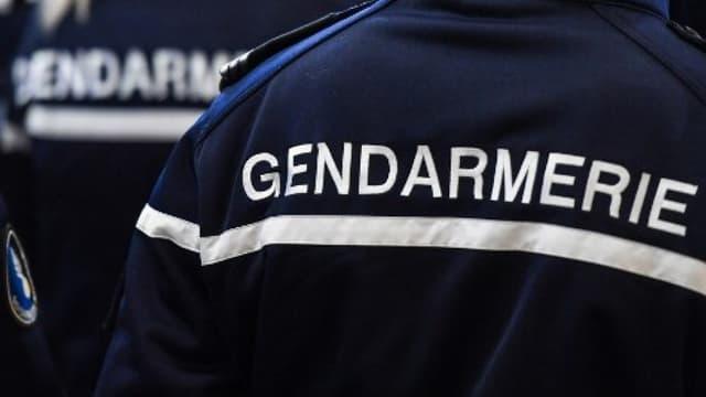(Photo d'illustration) Un agent de gendarmerie.