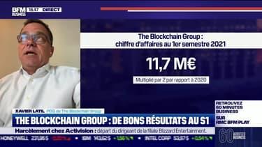 Xavier Latil (The Blockchain Group) : De bons résultats pour The Blockchain Group au premier semestre - 03/08