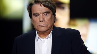 Bernard Tapie le 10 juillet lors d'un débat télévisé à Paris.