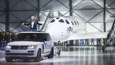 Land Rover et Virgin Galactic sont partenaires depuis juin 2014.