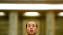 S'exprimant devant la presse à Bucarest, où il effectuait un déplacement, Silvio Berlusconi a reconnu lundi sa défaite aux élections locales et assuré qu'il avait toujours le soutien de la Ligue du Nord, son principal partenaire de coalition. /Photo prise