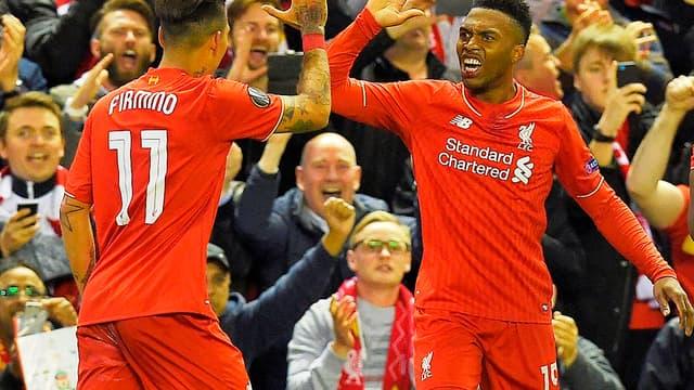 La joie de Sturridge et des joueurs de Liverpool