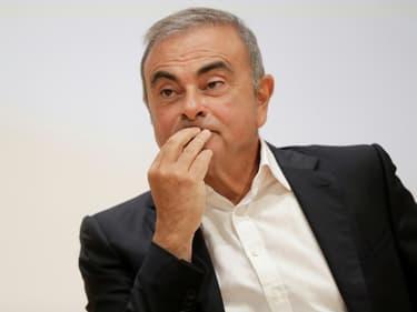 L'ancien patron de Renault Nissan Carlos Ghosn, le 29 septembre 2020 à Jounieh, au Liban