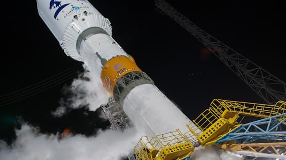 Une fusée Soyouz lancée de la base de Kourou, en Guyane, le 19 décembre 2013. (photo d'illustration)