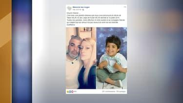 La mort de Tahar Mejri a été annoncée sur le groupe Facebook Mémorial des anges.